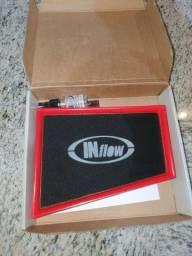Vendo filtro esportivo Inflow HPF6850 - Fluence, Sentra, Scenic, Megane.