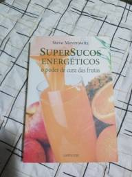 Livro Super sucos energéticos