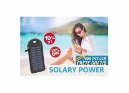 Carregador Portátiu Solar (solary power)