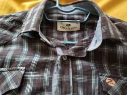 Camisas sociais dlt e blinclass