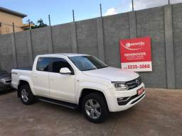 VOLKSWAGEN AMAROK 2017/2017 2.0 HIGHLINE 4X4 CD 16V TURBO INTERCOOLER DIESEL 4P AUTOMÁTIC - 2017