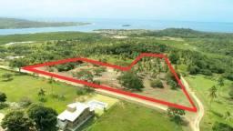20.000 m2 com 17 lotes, topo da colina com vista pro mar e Coroa do Avião