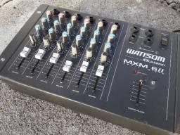 Mesa de Som de 6 canais Wattsom Ciclotron
