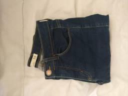 Calça cintura alta skinny 36
