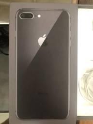 IPhone 8 Plus grafite 256 gb 15 dias de uso