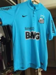 Camisa Nike Santos III 12 13 s nº - Azul Turquesa 4e8890d641270