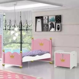 Cama infantil princesa rosa C190
