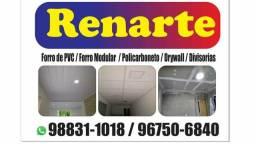 Usado, Rebaixamento de teto e forro PVC modular DRAYWLL é pvc branco 34.90 materiale mão de obra comprar usado  São Gonçalo