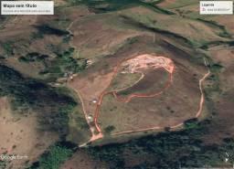 Terras para exploração e extração de saibro, estrada para Sebollas em Paraíba do Sul-RJ