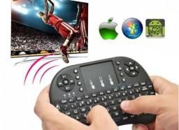 Mini Teclado Smart Tv Wi-fi Tv Box Pc Android