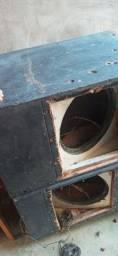 Armação caixa de som escorregadeira