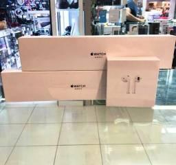Apple Watch S3 38M - Airpods 2 - Garantia Loja Fisica - Lacrado !