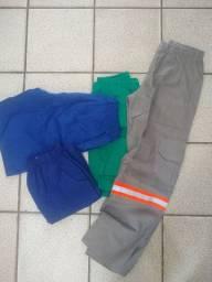 Fardamentos Calças pijamas, batas e calças sociais