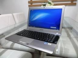 Notebook Samsung Core i3 2.50 ghz 4gb Hd 500gb Bateria Ok Entrego Parcelo Troco Ps4