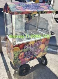 Carrinho de salada de frutas igarata
