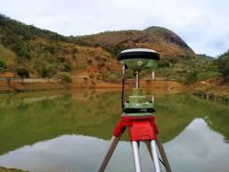 Sistema Gnss Gps Glonas Leica GS14 com RTK