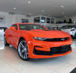 CAMARO SS V8 2020 laranja imperial