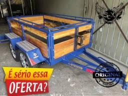 Reboque 2 eixos ! A melhor carretinha do Brasil