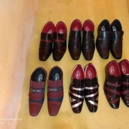 Sapatos social novo na Caixa