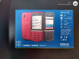 Celular Nokia asha 300 leia