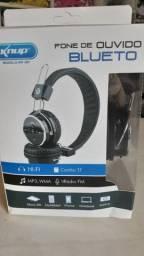 Fone de ouvido bluetooh Knup