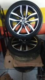 Pneus Michelin aro 17 perfil 225-45<br>ZAP:81- *