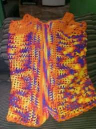 Blusa de crochê linda