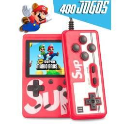 Vídeo Game Portátil Sup + Controle Game Boy 400 Jogos Sup