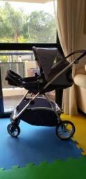 Carrinho de bebê Dzieco modelo Mali seminovo