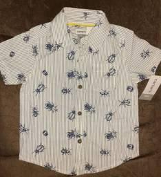 Camisa Carter`s insetinhos