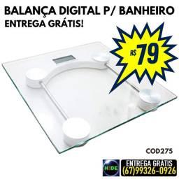 Balança de vidro para banheiro (entrega grátis)
