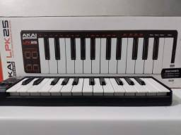 Teclado Musical Controlador Portátil Akai Lpk25 Midi Lpk 25