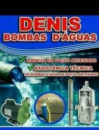 Denis poços semi artesianos e serviços em bombas