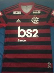 Camisa autografada do Flamengo