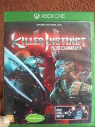 Jogo Xbox one Killer instinct R$ 30,00