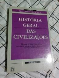 Livro História Geral das Civilizações
