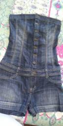 Macaquinho Jeans nr38