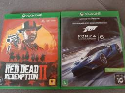 Red dead redemption II e forza 6