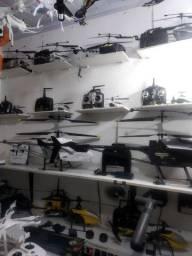 Loja de helicópteros vários modelos grandes novos