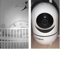 câmera ip monitor e varredura 360 + frete grátis