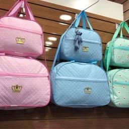 oferta 02 bolsas maternidade novas loja online