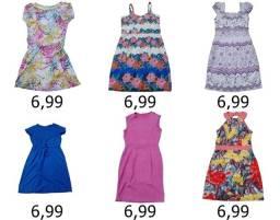 Vestidos modelos e tamanhos diversos