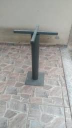 Estrutura para mesa em Aço Reforçada