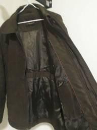 jaqueta leve e quente!!!! na cor marrom tamanho G