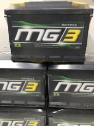 Bateria mg3 60ah entrega grátis 1 ano de garantia
