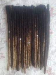 DREADLOCKS (cabelo humano) 30cm / DREAD