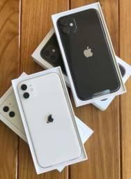 "iPhone 11 Apple (64GB) Branco tela 6,1"" Câmera 12MP iOS - Completo"