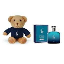 Kit Perfume Polo Ralph Lauren Deep Blue 125Ml + Mini Urso
