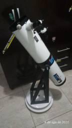 Telescópio artesanal Newtoniano