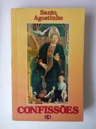 """Livro """"Confissões"""" Santo Agostinho"""